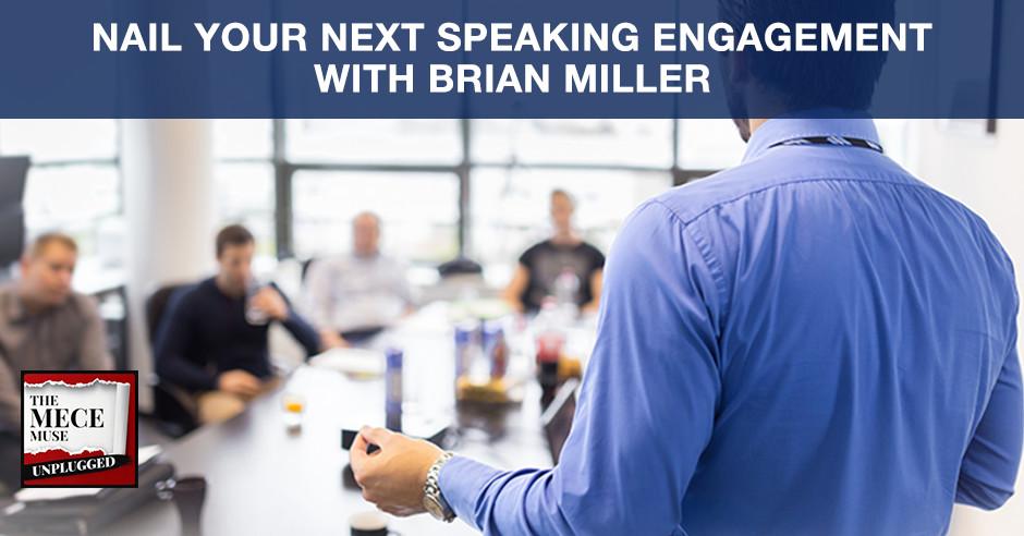 MECE 47   Next Speaking Engagement